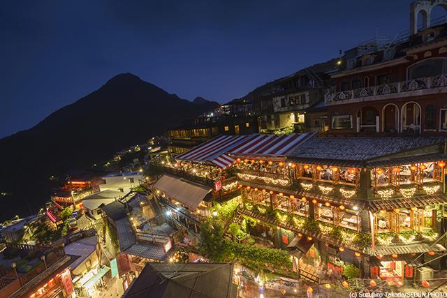 台湾 九フン 阿妹茶樓
