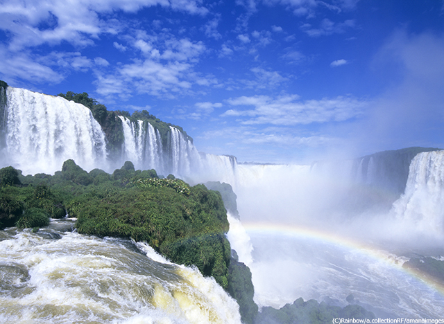 ブラジルイグアスの滝