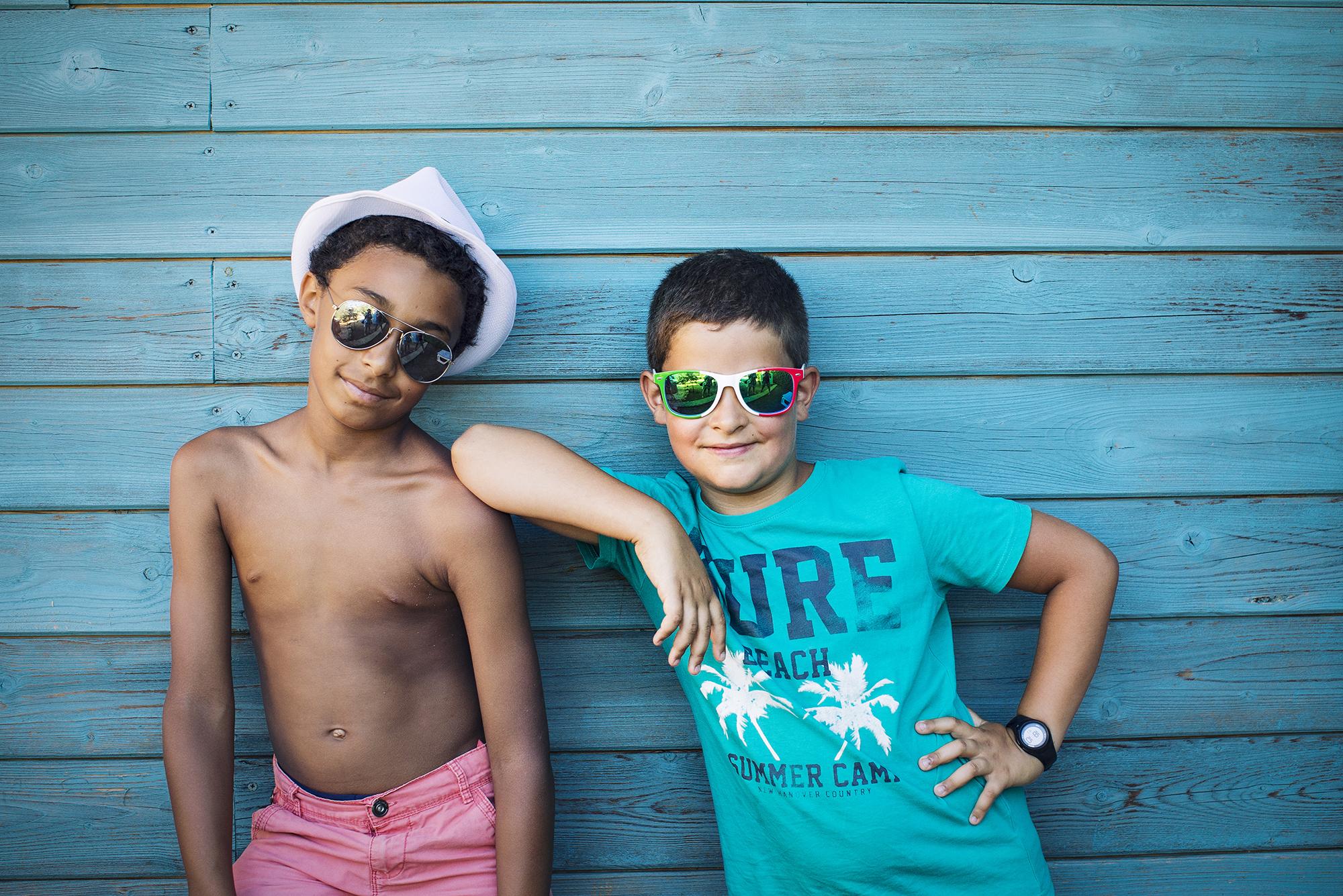 夏の子どもたち