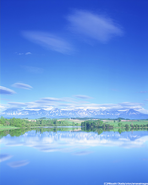 北海道水沢湖
