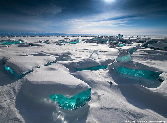 ロシア バイカル湖