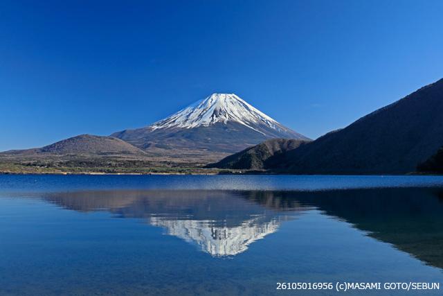 逆さ富士山