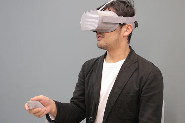 スタンドアローン型VRヘッドセット「Oculus Go」でどこでも気軽に映画館気分!