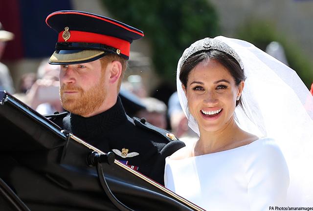 ヘンリー王子とメーガン・マークルさんが挙式