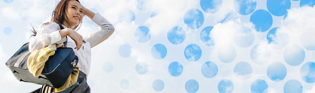 簡単!写真素材の色あせた空を鮮やかな青空にする方法【ストックフォト活用術】